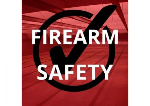 Certified NRA Home Firearm Safety Training Course
