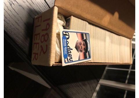 1982 FLEER Baseball Complete Set 660 Cards