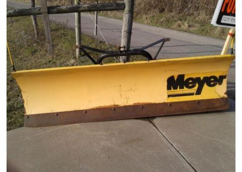 Meyer snow plow 7 ft
