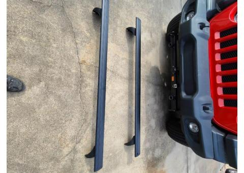 Top rails for JL Jeep